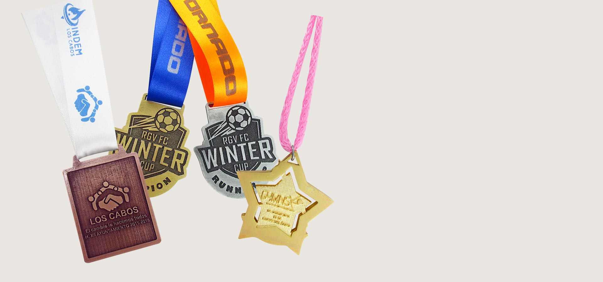 Medallas Fundidas